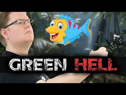 Jetzt wird geangelt! (mit 'nem Speer) | Green Hell #10