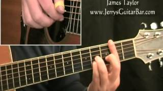 How To Play the Intro to James Taylor Walking Man