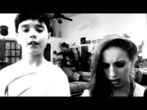 "Nina T. and her 9 year old student, Aiden harmonize ""Stay"" by Rihanna"
