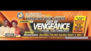 FROM THE GLORY DOME: JUNE 2019 TESTIMONY AND THANKSGIVING SERVICE. 30-6-2019