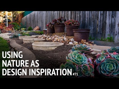#71 Using nature as a design inspiration on your garden