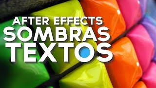 Sombras en Textos After Effects Tutorial