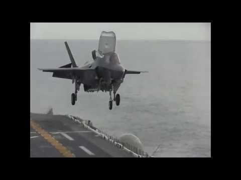 Testing the F-35B Lightning II Aboard USS America - U.S. Navy Video I