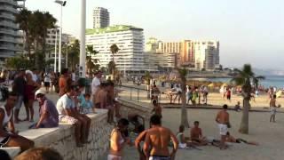 preview picture of video 'Fiesta Calpe - Playa de la Fossa - Agosto 2012'