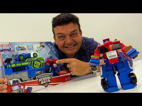 Transformers Robots español. Camión -robot Héroes