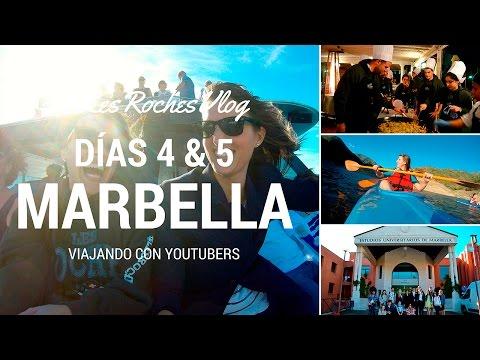 Viajando con Youtubers - Días 4 & 4 en Marbella #LesRochesVlog