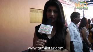 Actress Nisha Speaks at Kadhalukku Kanillai Movie Press Meet