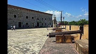 ZONA COLONIAL WITHOUT TOURISTS DUE TO COVID 19, DOMINICAN REPUBLIC