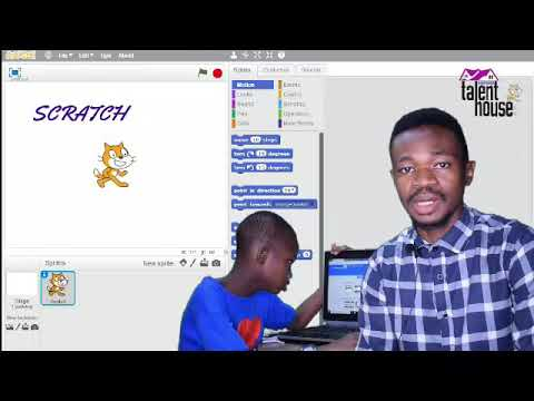 Coding for kids. Here is Scratch.