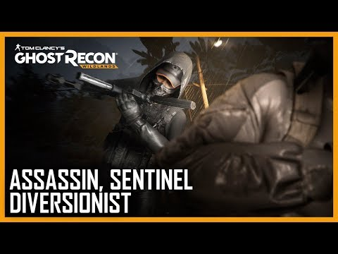 Tom Clancy's Ghost Recon Wildlands: Ghost War Classes: Assassin, Sentinel, Diversionist | Ubisoft