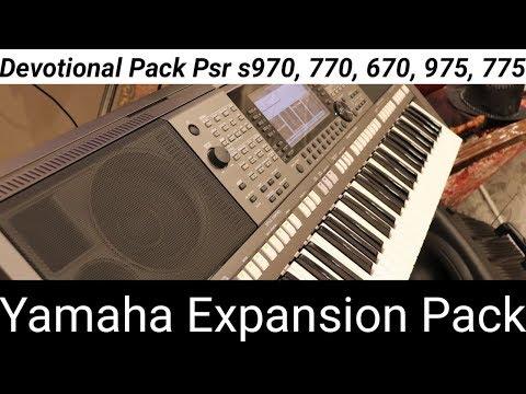 YAMAHA PSR S Model EXPANSION 2018 ( S775 / S975 /S670 / S770 / S970