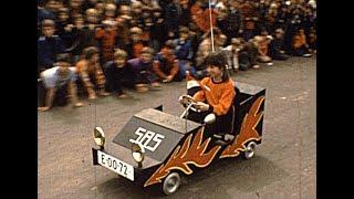 Trappaf, zeepkistenrace in 1977, Koninginnedag.