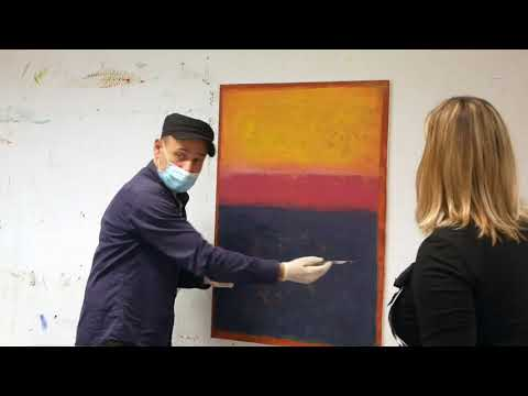 Paint like Rothko - Fields and frames