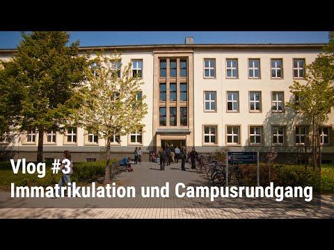 Vlog: Bewerbung für ein Präsenzstudium + Campusrundgang