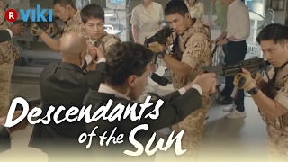 Descendants of the Sun - EP4 | Gun Standoff [Eng Sub]