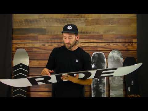 Ride Burnout Snowboard - Men's
