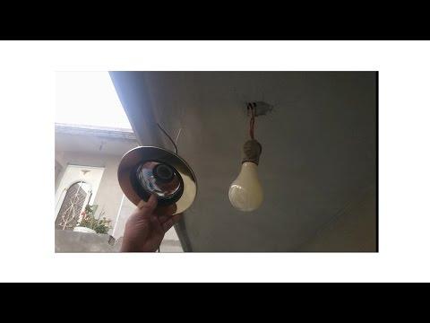 Lampara empotrable y foco led SMD 8 watt por soquet y lampara incandescente de 60 watt