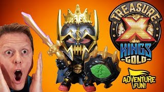 """Treasure X Kings Gold """"Hunters"""" Season 3 Unboxing Adventure Fun Toy review by Dad!"""