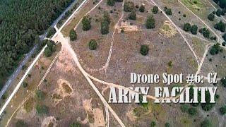 Drone Spot #6: CZ - Old army facility #fpv #drone #fpvdrone