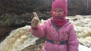 Внедорожные прогулки: Водопад на реке Курасан