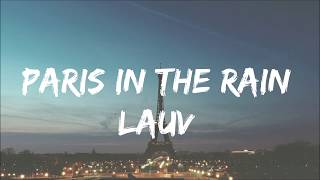 Paris In The Rain Lauv(한글가사자막)