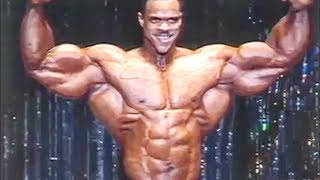 Paul Dillett Posing - A Monster With A Small Waist