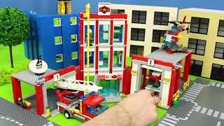 Carrinho De Bombeiros - Bombeiro Sam E Carrinhos Da Patrulha Canina Fire Truck Toys