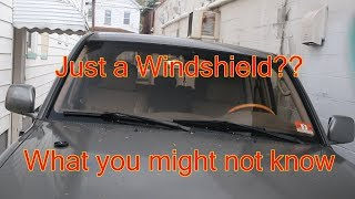 LX470 Windshield What you need to know!($1500?!)
