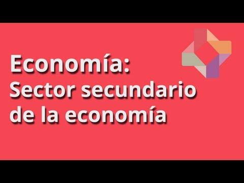 Sector Secundario de la Economía