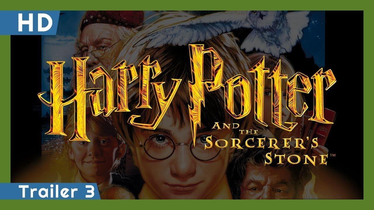 Trailer för Harry Potter och de vises sten