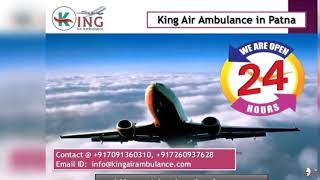 Get Fast King Air Ambulance Service in Patna