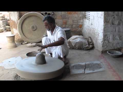 How to Make a Clay Pot in Jodhpur, India.