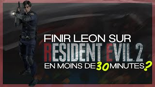 🔥 Finir Resident Evil 2 Remake en moins de 30 minutes !