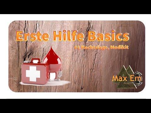 Erste Hilfe - Basics Tutorial, minimum Medikit