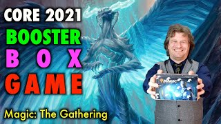 Lets Play The Core Set 2021 Booster Box Game! Magic: The Gathering