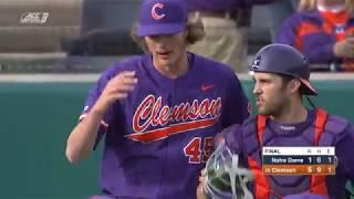 Clemson Baseball || Notre Dame Game Highlights - 3/16/19