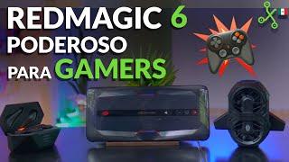 RedMagic 6, lo PROBAMOS en MÉXICO: el más PODEROSO para GAMERS
