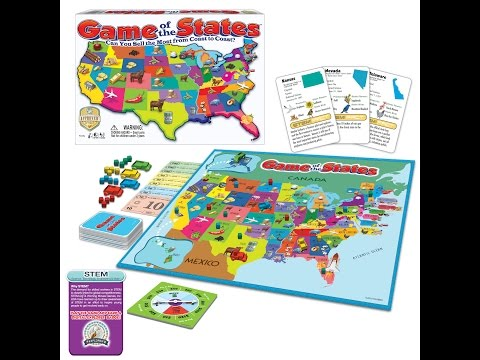 Game Of The States™ by Winning Moves Games USA