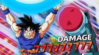 LR Spirit Bomb Goku vs PUNCH MACHINE EVENT | DBZ DOKKAN BATTLE
