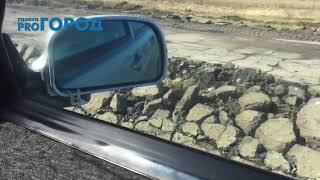 Дорога до Старой Рязани превратилась в непроходимое месиво
