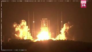 """في سباق للفضاء...الصين تطلق الصاروخ القوي """"لونغ مارش -5""""بتحد جديد"""