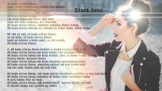 Olga Lounová - Stará žena  (official lyric video)