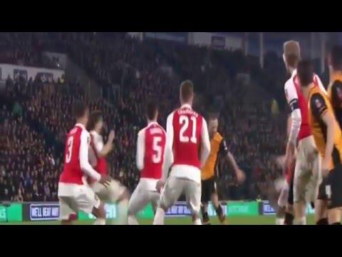 Arsenal vs Hull City 4 - 0 Highlights FA Cup 8th March 2016