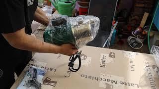 Auspack Video Wasser Pumpe !