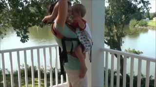 Front Carry with a Toddler in an SSC
