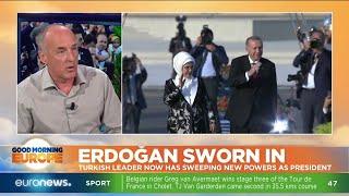 Erdogan Sworn In: Turkish leader now has sweeping new powers as President