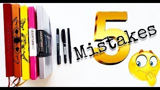 5 Bujo Mistakes I Have Made....so You Don't Have To