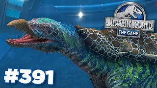 Creating the new Hybrid!!! | Jurassic World - The Game - Ep391 HD
