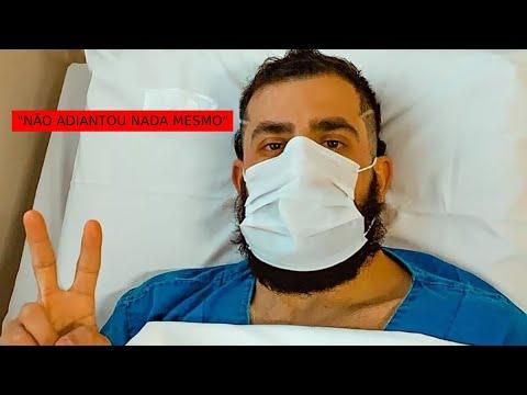 Kaysar revela que cirurgia no nariz não deu certo