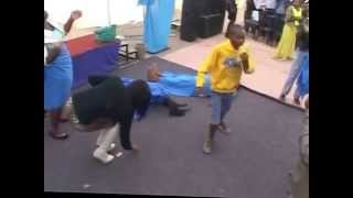 Young boy amazes church as he demonstrates the power of the Holy Ghost